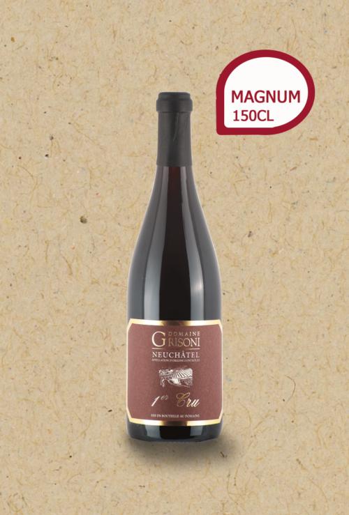 Pinot Noir 1er Cru vieilles vignes du Domaine Grisoni. Magnum.