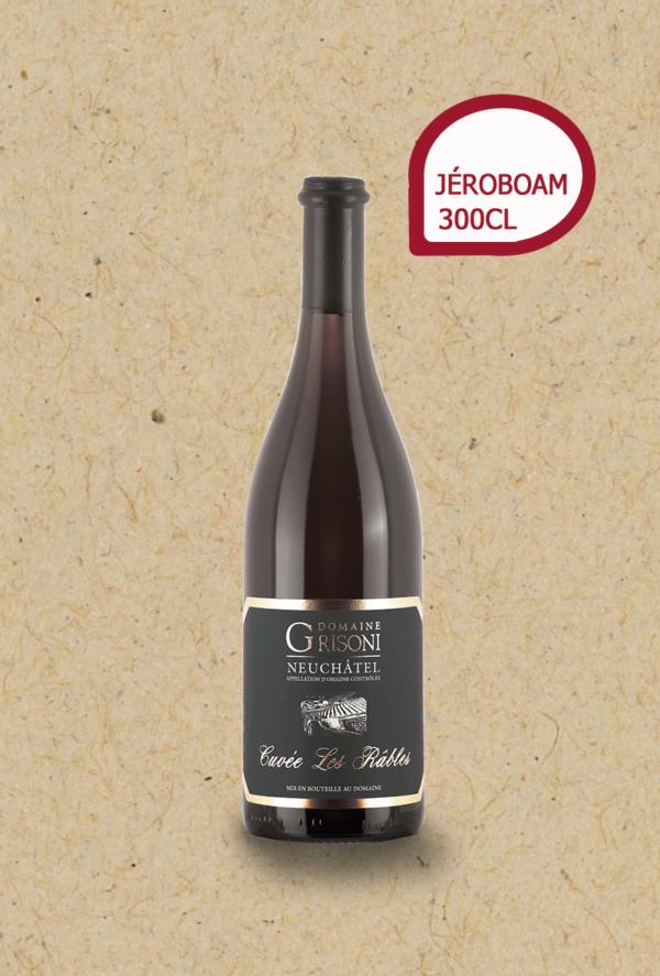 Pinot Noir les Râbles du Domaine Grisoni.