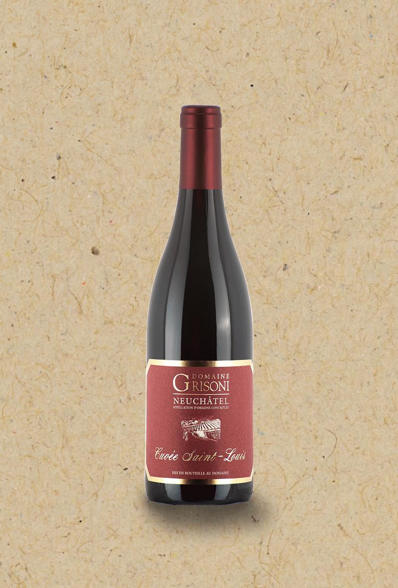 Pinot Noir St-Louis du Domaine Grisoni.